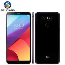 LG – téléphone portable G6 débloqué, écran de 5.7 pouces, smartphone, 4 go de RAM, 32 go/64 go/128 go de ROM, simple SIM, double caméra de 13 mp, LTE