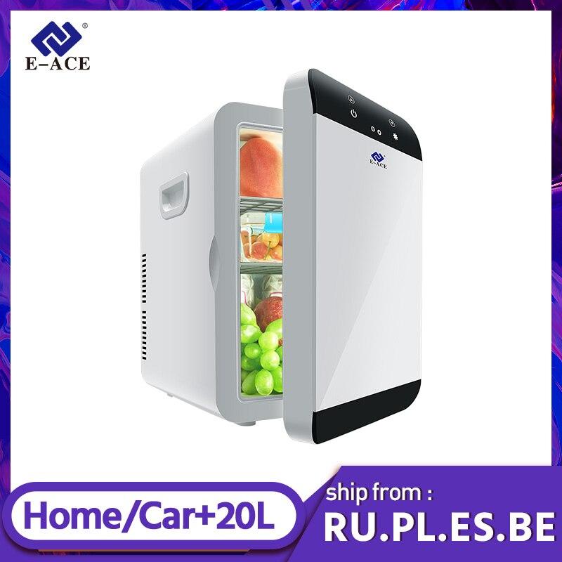 E-ACE M08 автомобильный Cefrigerator 12V емкость Портативный Mni холодильник для автомобиля домашний офис холодильник для кемпинга охладитель грелка г...