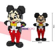 1378pcs 9053 MIKI Model Blocks DIY Building Bricks Cute Cartoon Model Kids Mini Bricks Toys Anime Juguetes Boy Gifts