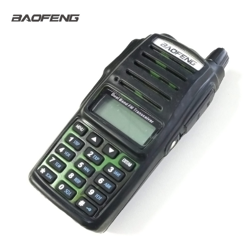 Baofeng UV-82 Rubber Case UV82 Walkie Talkie Black Silicone Cover Dustproof Wear Resistant Black Baofeng Radio Case Accessories