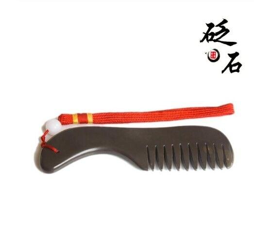 5 UN xuan Huang Sibin naturale bianstone massaggio ador celulite per prevenire la perdita dei capelli bian ago di pietra gua sha guasha pettine salute