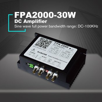 30W Signal Booster Dual-channel DC Power Amplifier For Arbitrary Waveform Function Signal Generators US