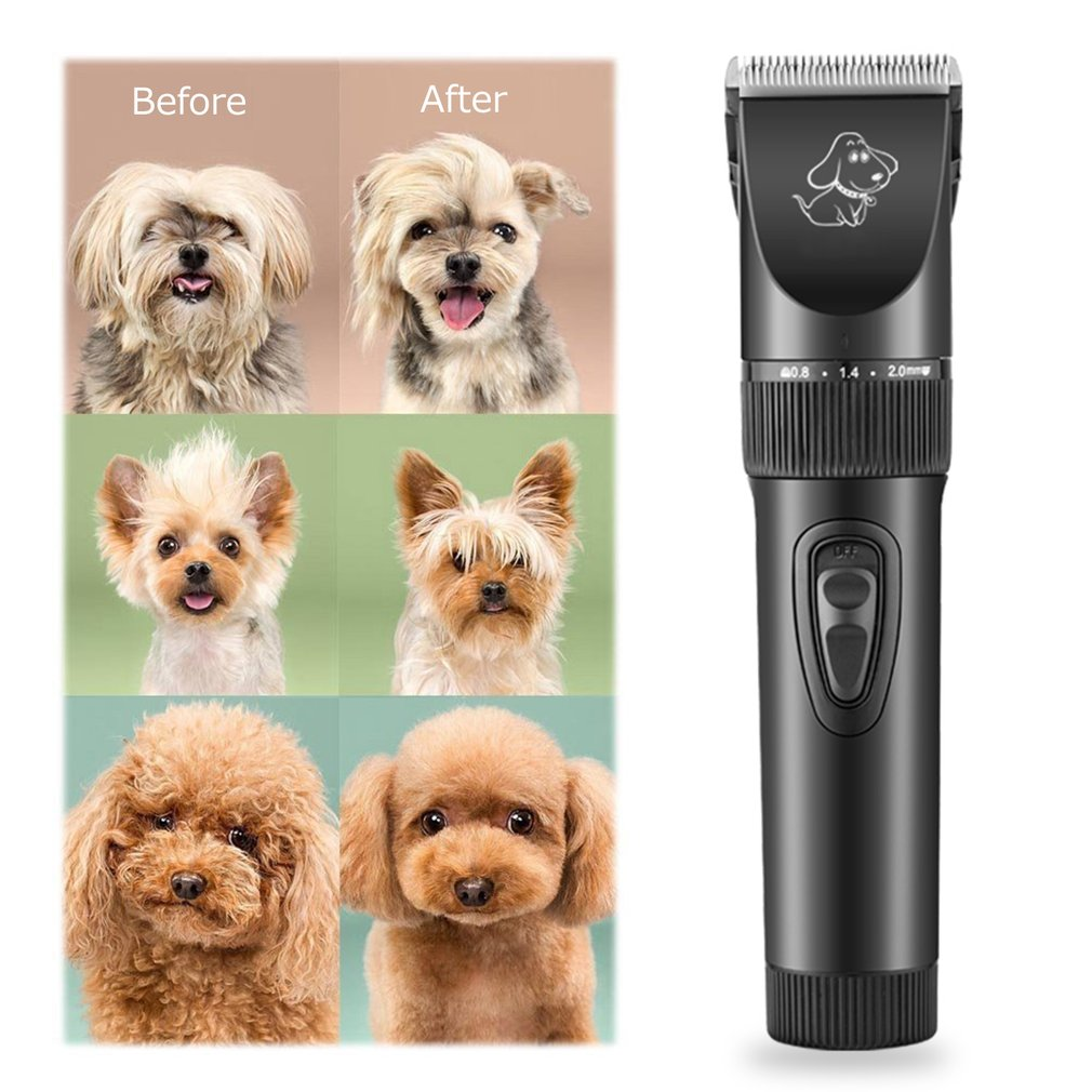 Mammal - P7™ Rechargeable Pet Dog Hair Clipper Professional Electric Pet Grooming Clippers Dogs Cats Animals Low Noise Pet Trimmer Kit