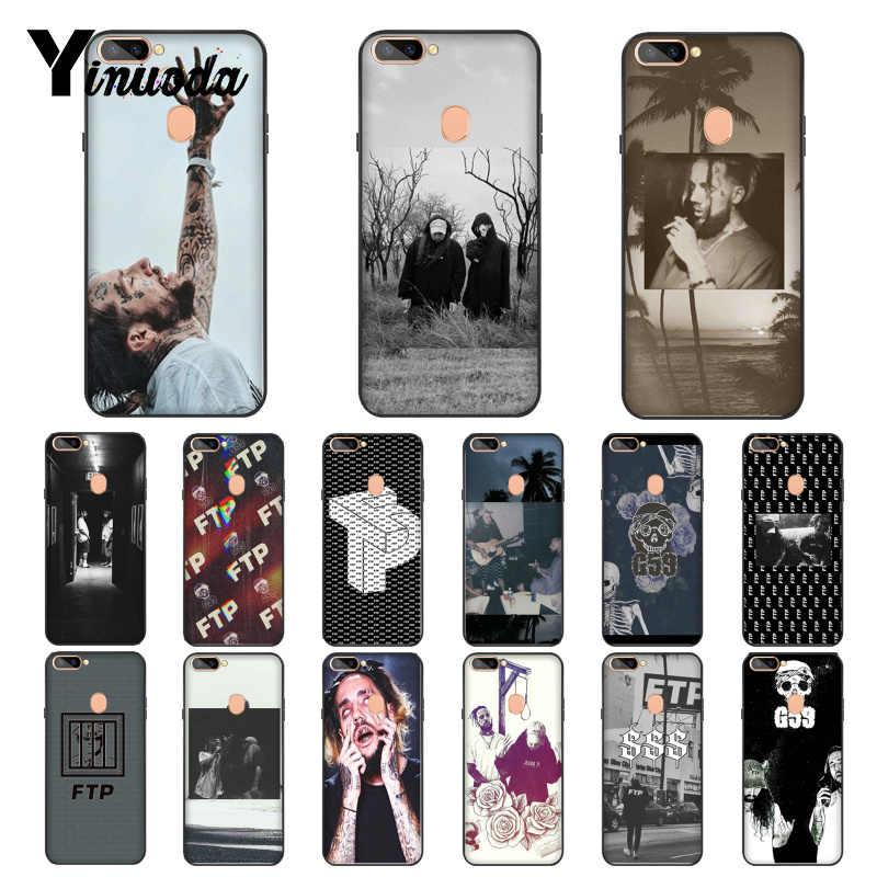Yinuoda Suicideboys FTP G59 Smart Cover czarne miękkie powłoki telefon skrzynka dla OPPO R17 R17 Neo R11S Plus R9 R9S plus przypadkach