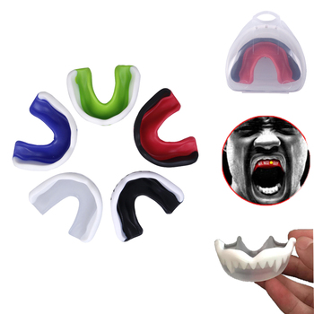 20pcs Mouth Guard Adult Karate Muay Safety Soft EVA Mouth Protective Teeth Guard Sport Football Basketball Thai Boxing Dropshop