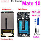 "AAA + Новый 5,9 ""для ЖК-дисплея для HUAWEI Mate 10, ЖК-дисплей, сенсорный экран, дигитайзер, сборка для Huawei Mate 10 ALP L09 L29, замена"