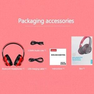 Image 5 - Lenovo HD200 Bluetooth אלחוטי סטריאו אוזניות BT5.0 ארוך המתנה חיים עם רעש מבטל עבור Xiaomi iphone Lenovo אוזניות