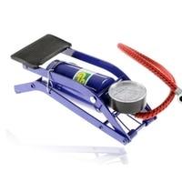 Car Inflate Pump Foot Pedal Type High Pressure Air Pump Mini Portable Inflator Machine for Car Motorcycle Bike Toys