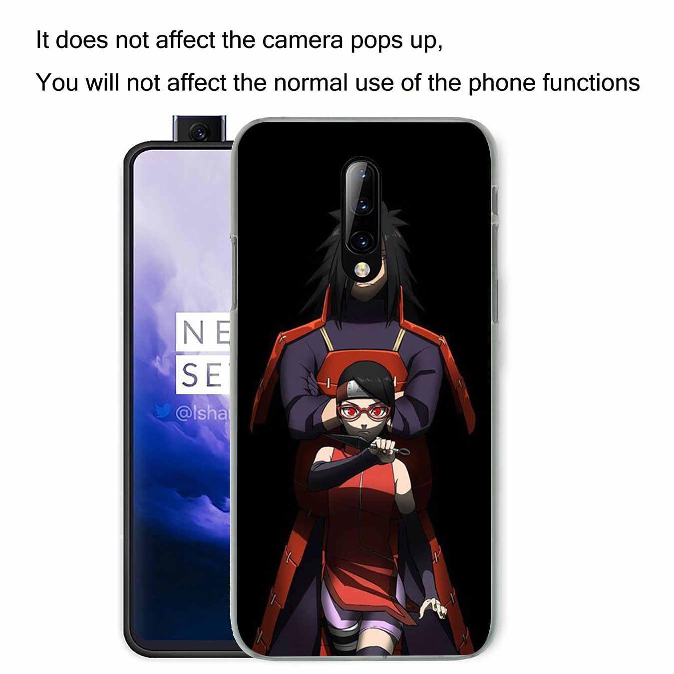 Lavaza sarada uchiha Naruto coque de téléphone portable en plastique dur pour Oneplus 7 Pro 6 6T 5 5T couverture One Plus 7Pro