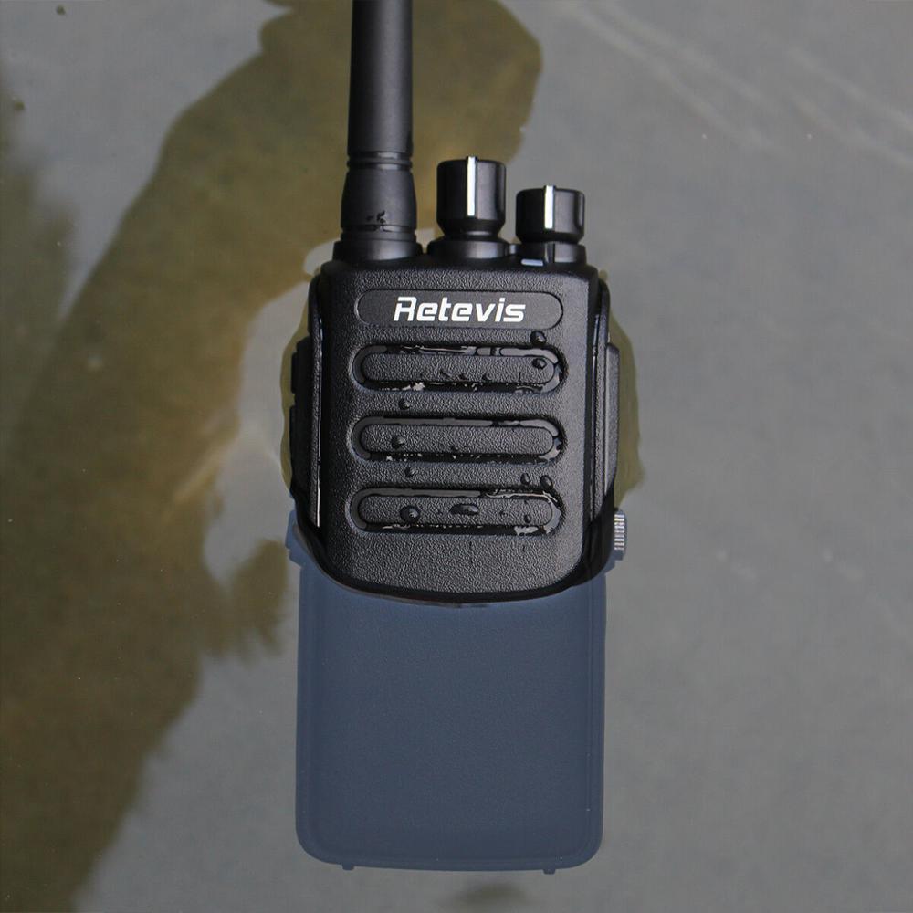 Retevis RT81 DMR Digital Walkie Talkie IP67 Waterproof Radio Station UHF 400-470MHz VOX Digital/Analog Portable Two-way Radio