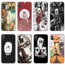 Jiraiya Gama Sennin accesorios funda para teléfono para iPhone 12 Mini 11 Pro Max XS Max XR X 8 7 Plus 6 6S Plus 5 5S SE 2020