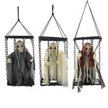 Dia das bruxas colgar prisionero fantasma fantasma do Dia Das Bruxas voz brillante llamado Zumbi fantasma esqueleto