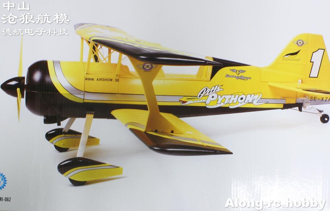 Новый EPO Самолет RC самолет RC хобби размах крыльев 1400 мм PITTS-12 самолет Питтс 12 50E RC модель (есть комплект или PNP набор)