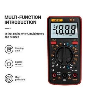 Image 2 - M1 multimètre numérique, testeur professionnel de rétroéclairage, Buzzer Diode AC/DC, multimètre A830L/830L, Portable