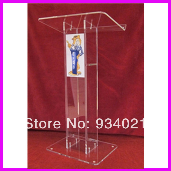 Acrylic Desktop Lectern / Acrylic Church Podiums / Acrylic Pulpit Church Pulpit