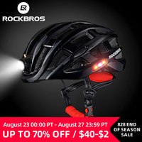 ROCKBROS-Casco ultraligero para ciclismo, moldeado integralmente, para ciclismo de montaña o carretera, 57-62cm