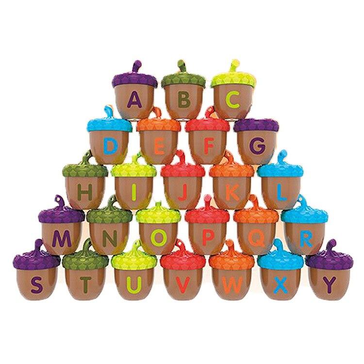 Características NUKied niños aprendizaje iluminar diversión pequeños conos de pino educación temprana construcción educativa Multi-Color para niños