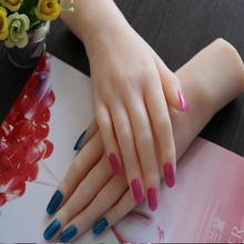 23Cm High quality real hand mannequin body Manicure props jewelry model art Halloween Woman finger 2PC/lot  C730