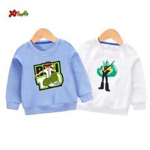 baby sweatshirt Ben10 children cute sweatshirts toddler Baby boy Cotton Kids Hoodies Children Long Sleeve Toddler Sportswear  3T