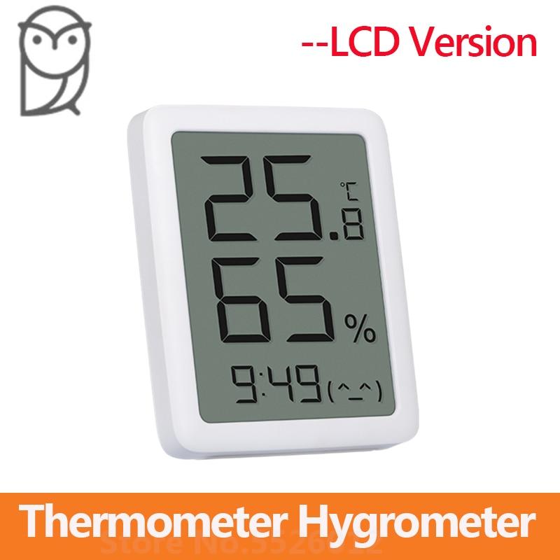 Новый MMC Miaomiaoce термометр гигрометр ЖК экран цифровой дисплей Температура Влажность Датчик для помещений|Смарт-гаджеты|   | АлиЭкспресс