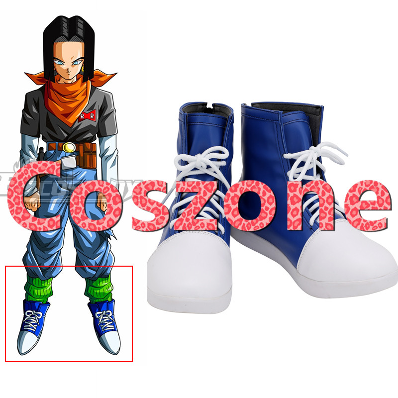 Dragon Ball Android 17 Lapis Cosplay