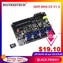 BIGTREETECH BTT SKR MINI E3 V1.2 32 Bit płyta sterowania zintegrowany TMC2209UART RGB Marlin dla Ender 3/5 Pro 3D części drukarki