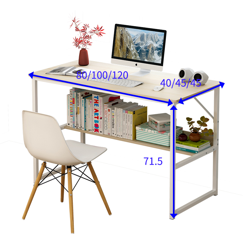 Computer Desk Desktop Table Home Simple Desk Bedroom Desk Simple College Student Writing Desk Dormitory Small Table