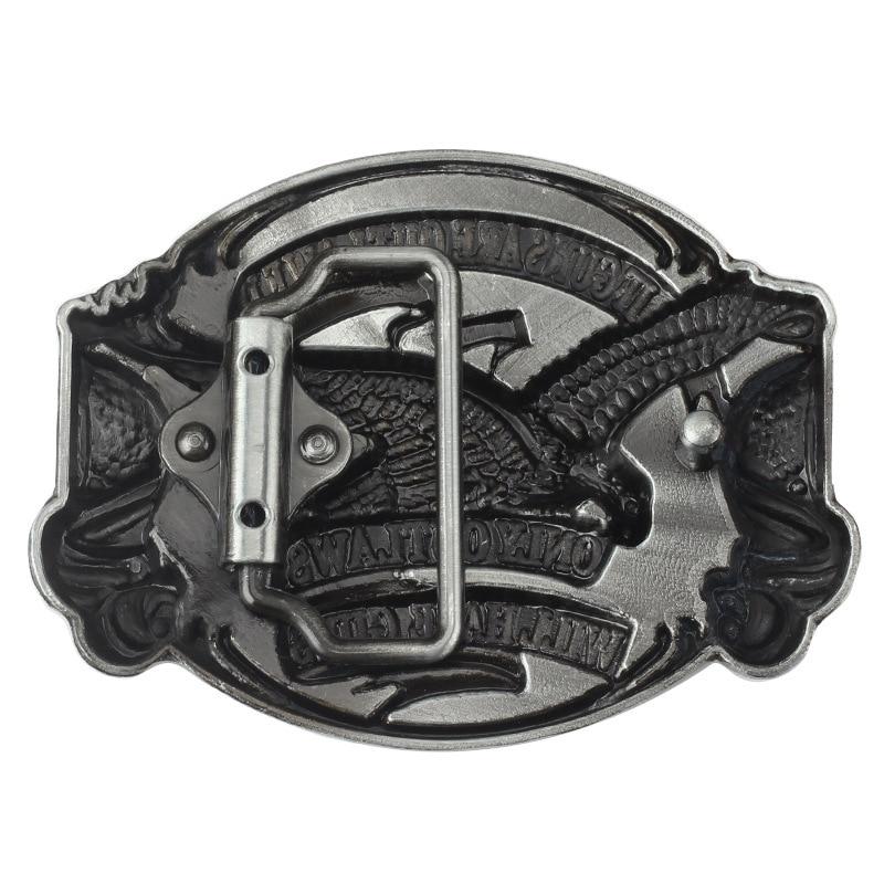 Belt DIY accessories Eagle/Vulture flag Pattern Belt Buckle Handmade homemade waistband Western cowboy rock style