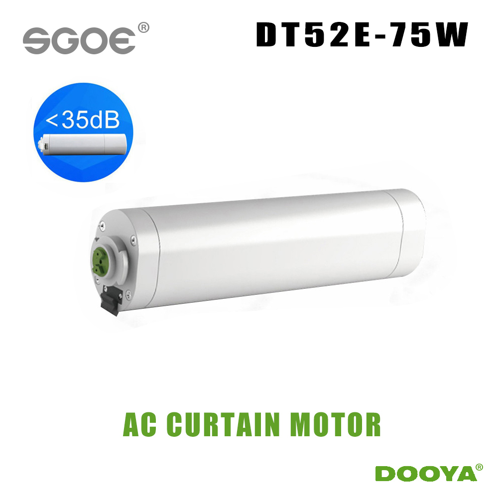 Dooya smart home Electric Curtain Motor intelligent curtain DT52E 75W Remote Control Smart Home 220V NEW