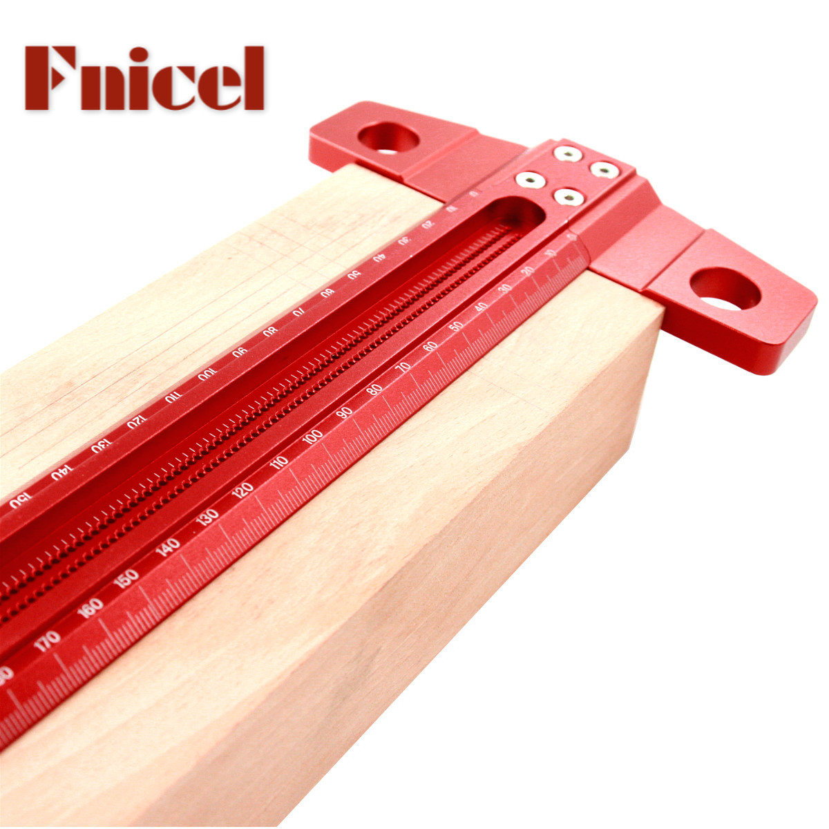 NEW POCKET T-SQUARES Measuring Woodworking T-Type Scribe Mark Measurement Ruler