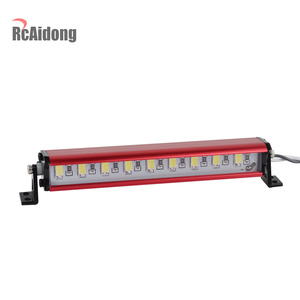 Image 4 - 1/10 RC Crawler Metal 9 LED Light Bar Kit FOR Traxxas Trx4 TAMIYA CC01 Axial SCX10 D90 D110 90046