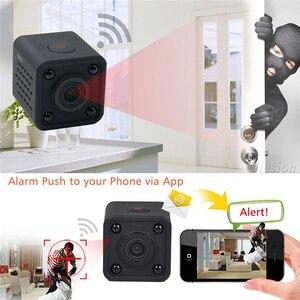 Image 3 - Hdq9 mini wifi câmera hd 1080p vídeo gravador de áudio com visão noturna ir detecção de movimento pequena filmadora sem fio carro micro cam