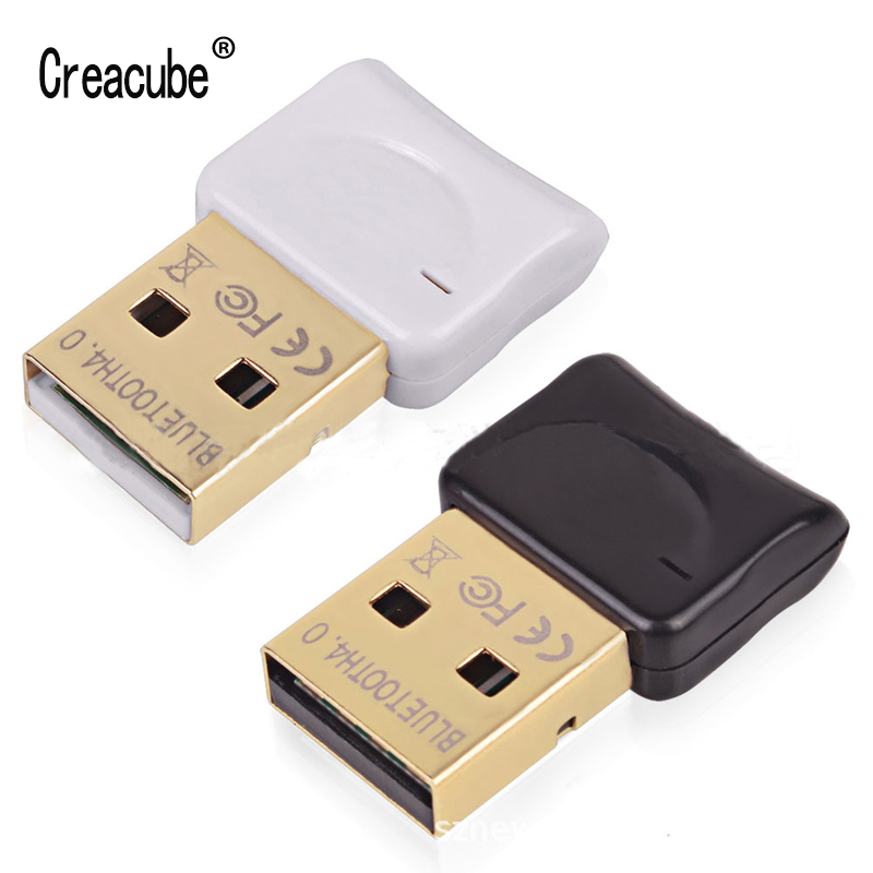 Creacube Mini  Bluetooth 4.0 USB Adapter Bluetooth Dongle Wireless Receiver Transfer For Laptop PC Desktop