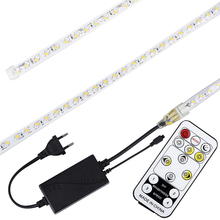 LED Strip 5050 Flexible Tape Lights 220V Outdoor IP65 Waterproof Light Dimmable with Remote 5m 6m 7m 8m 9m 10m 15m