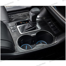 lsrtw2017 stainless steel abs car gear cup frame panel trims for toyota highlander 2013 2014 2015 2016 2017 2018 2019 XU50 lsrtw2017 abs car gear trims for honda civic 2012 2013 2014 2015 9th civic