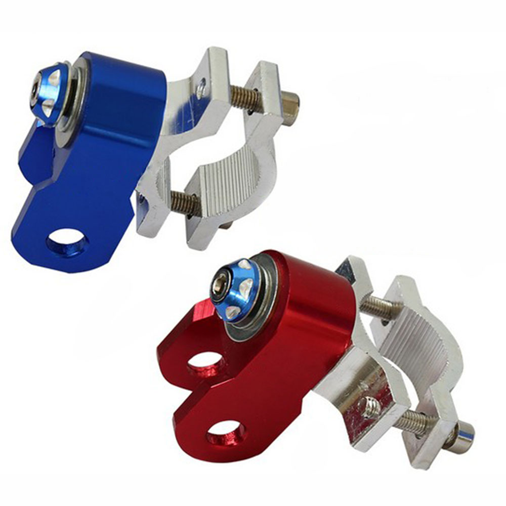 Motorcycle Anti-theft Lock Bracket Scooter Moto Disc Brake Alarm Lock Support Reminder Shrink Spring Rope Spare Parts