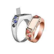 Zelfverdediging Ring Titanium Staal Fashion Verborgen Zelfverdediging Wapens Defensa Persoonlijke Кастет Для Самообороны Оружие