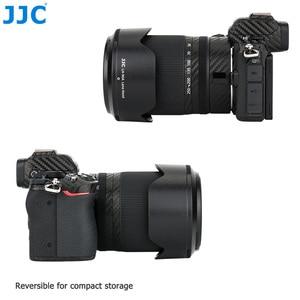 Image 2 - JJC Blütenblatt Stil Bajonett Objektiv Haube Für Nikon NIKKOR Z DX 50 250mm f/4,5 6,3 VR Objektiv Auf Nikon Z50 Ersetzt Nikon HB 90A Objektiv Schatten