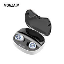 MURZAIN True Wireless Earbubs TWS Bluetooth Earphones Noise Cancellation Headphones Stereo Sound Headset 2000mAh Charging Box
