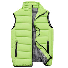 Fall and winter stand up collar vest, youth wear jacket, slim, handsome and versatile, ten colors of fashionable coat