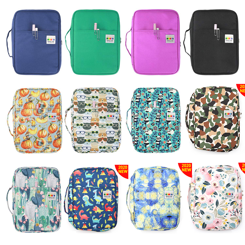 216 Slots Large Capacity Pencil Bag Case Organizer Cosmetic Bag For Colored Pencil Watercolor Pen Markers Gel Pens Great Gifts 6