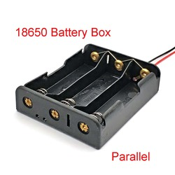 18650 Power Bank Cases 3 18650 Battery Holder Storage Box Case 18650 Parallel Battery Box