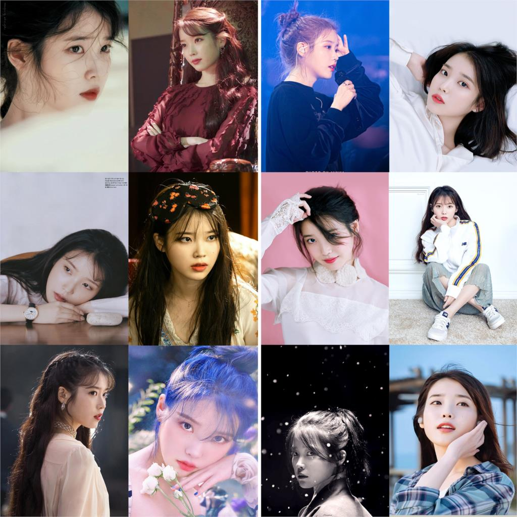 Kpop Posters Wall Stickers IU High Definition Home Decoration