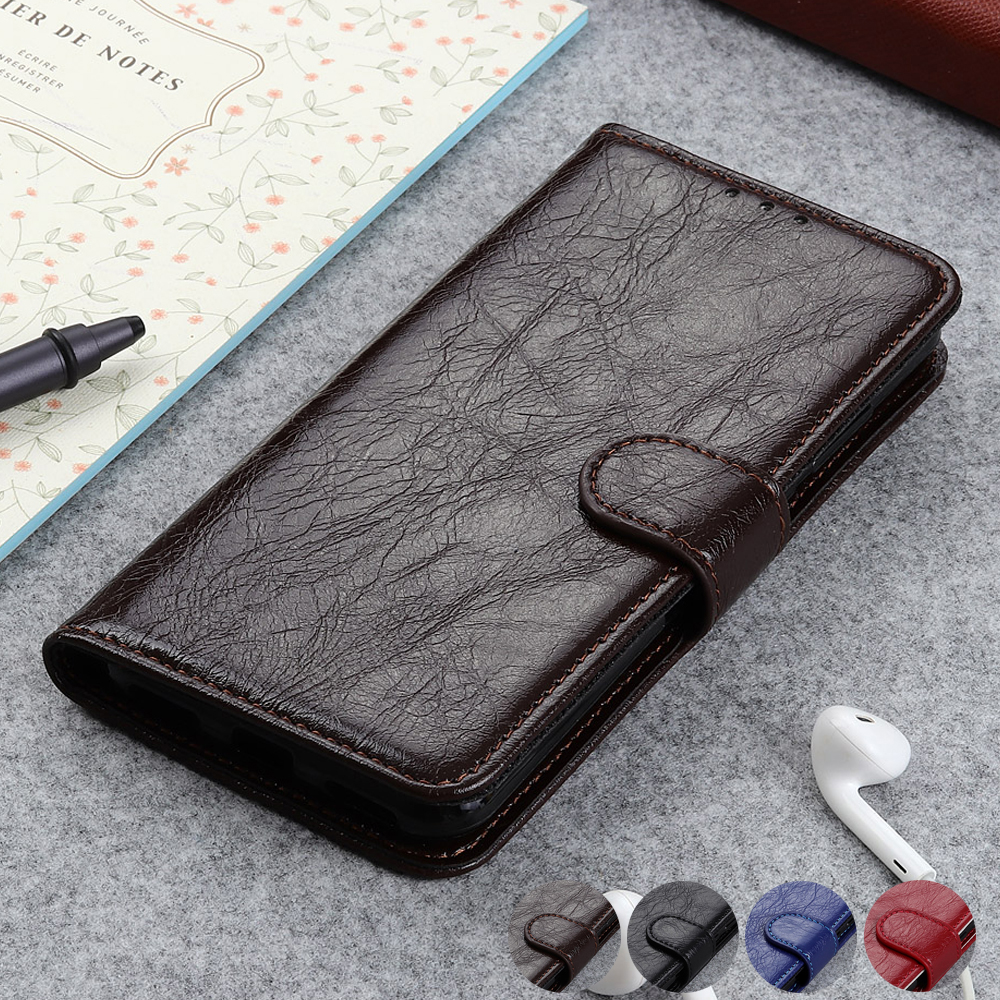 Luxury Premium leather Wallet Cover Flip Case for Sony Xperia 20 <font><b>2</b></font> <font><b>1</b></font> <font><b>10</b></font> Plus XZ5 XZ4 XZ3 XZ2 Premium XA2 Plus Ultra L3 image