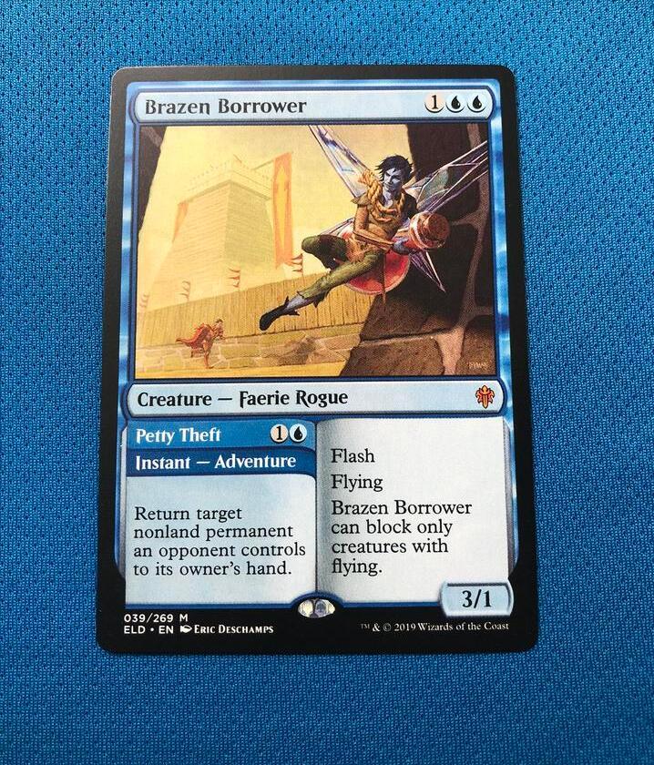 Brazen Borrower ELD Hologram Magician ProxyKing 8.0 VIP The Proxy Cards To Gathering Every Single Mg Card.