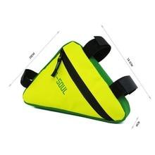 B-SOUL велосипедная передняя рама треугольная сумка велосипедный велосипед кошелек-туба Держатель седло корзины водонепроницаемые аксессуары