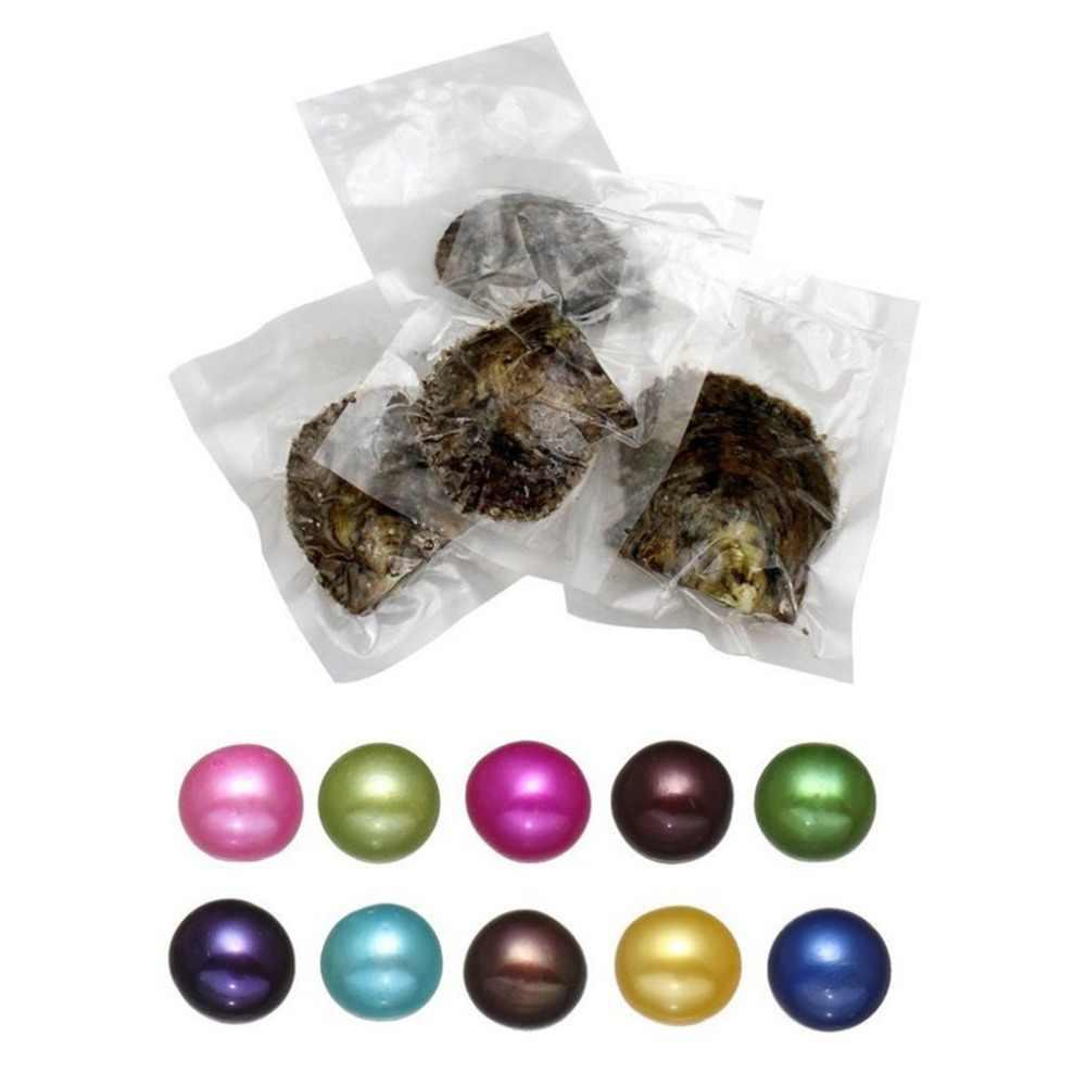 Vuoto-pack Oyster Perle Borsette Cozza con Le Perle All'interno di Perle D'acqua Dolce Misterioso Regalo A Sorpresa non Parti di Robot da Cucina