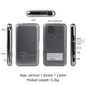 Image 2 - 5000mah Touyinger Everycom S6 플러스 피코 포켓 휴대용 프로젝터 스마트 폰 안 드 로이드 dlp wifi 미니 led 안 드 로이드 AC3 블루투스