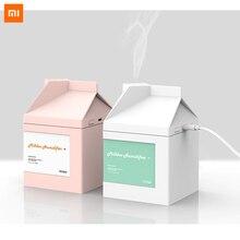 Xiaomi Milch Box Befeuchter Diffusor 260ML Ultraschall luftbefeuchter Reinigung Luftbefeuchter USB Lade Nebel Maker Ruhig beste geschenk