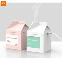 Xiaomi süt kutusu nemlendirici difüzör 260ML ultrasonik hava nemlendirici arındırıcı nemlendirici USB şarj Mist Maker sessiz en iyi hediye